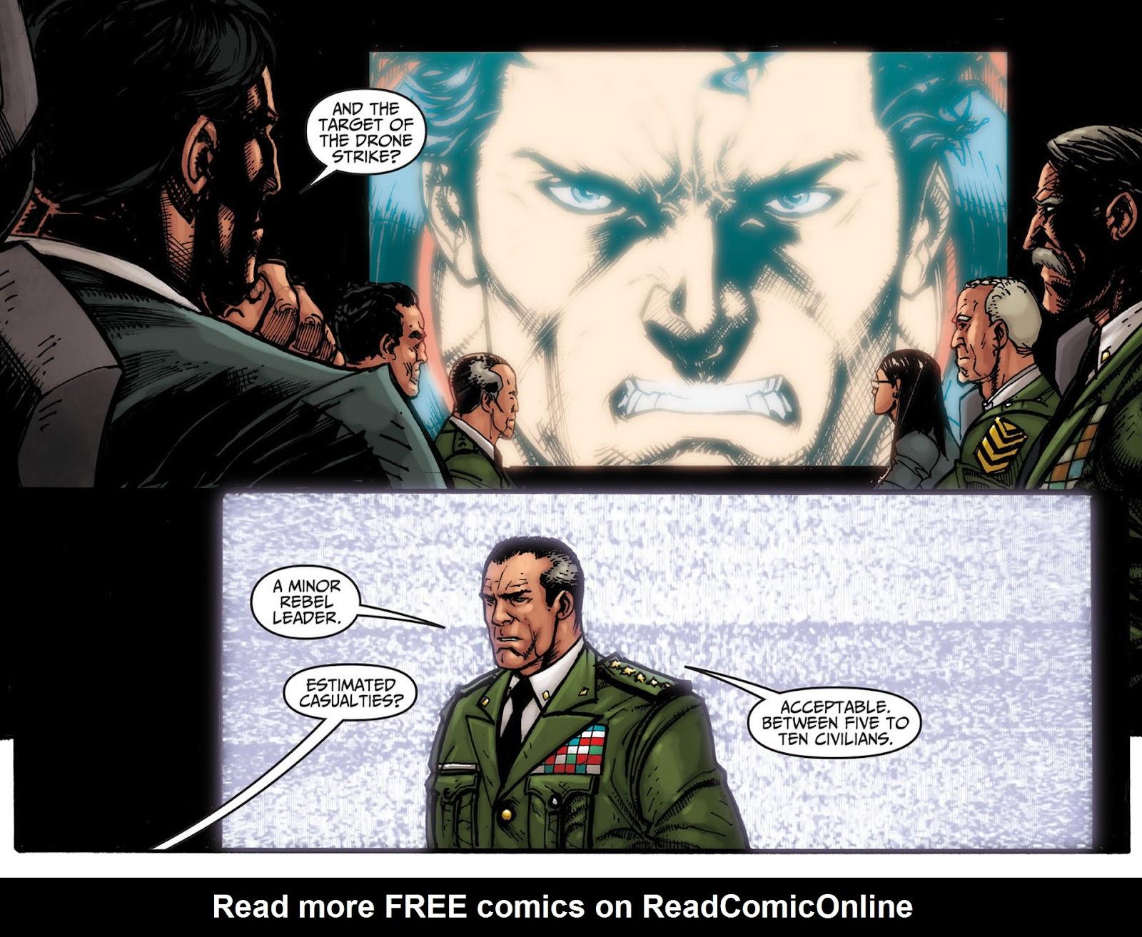 Injustice: Gods Among Us [I] Issue #7 #8 - English 9