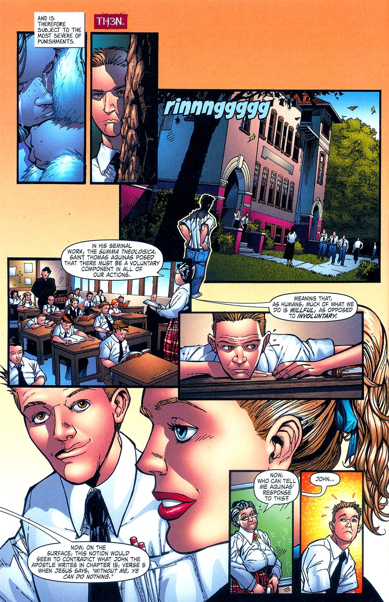 Read online Se7en comic -  Issue #5 - 8
