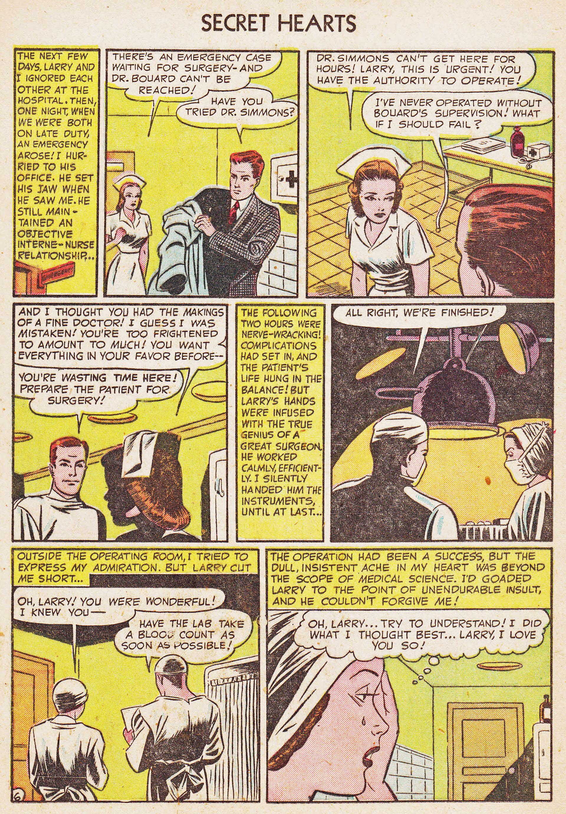Read online Secret Hearts comic -  Issue #7 - 22