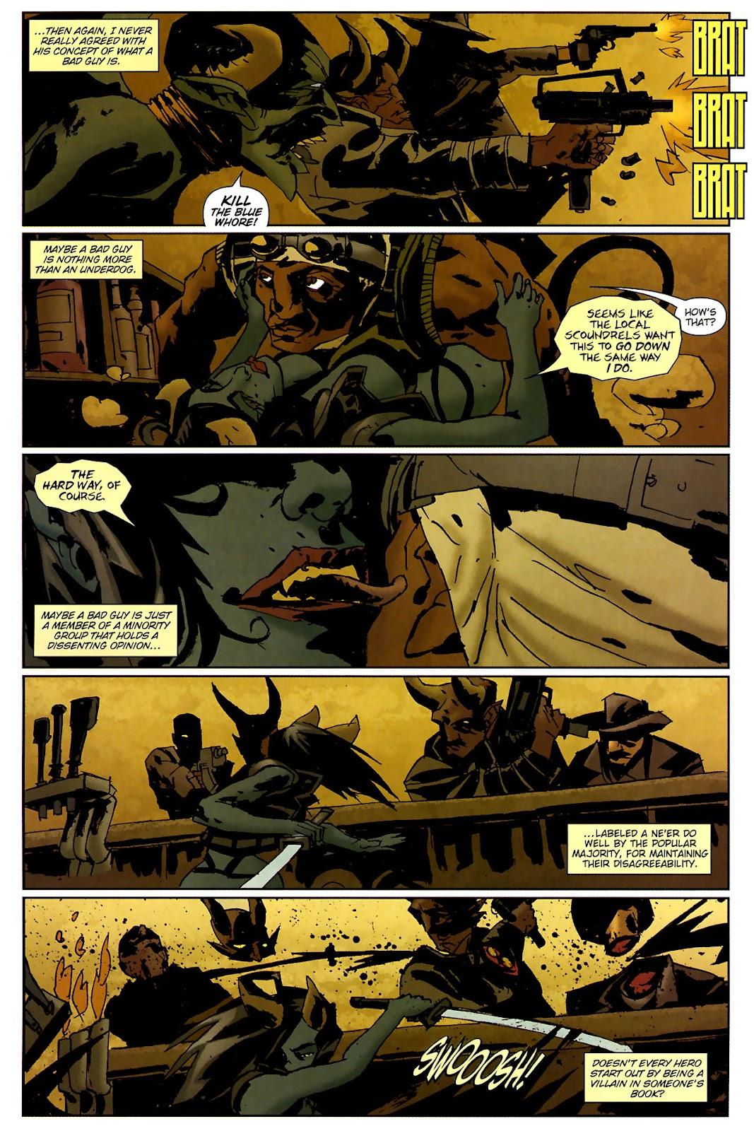 Strange Girl Issue #15 #16 - English 14