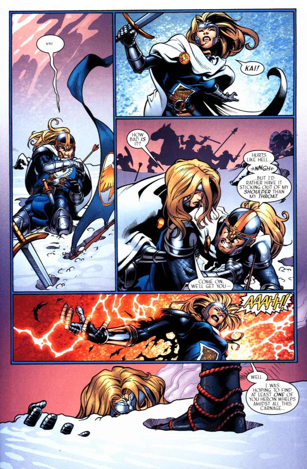 Read online Scion comic -  Issue #22 - 17