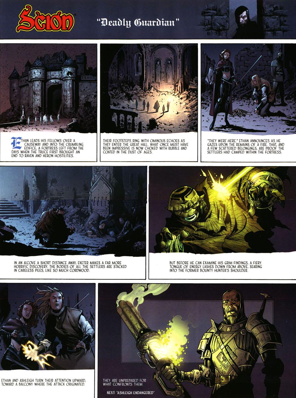 Read online Scion comic -  Issue #39 - 9