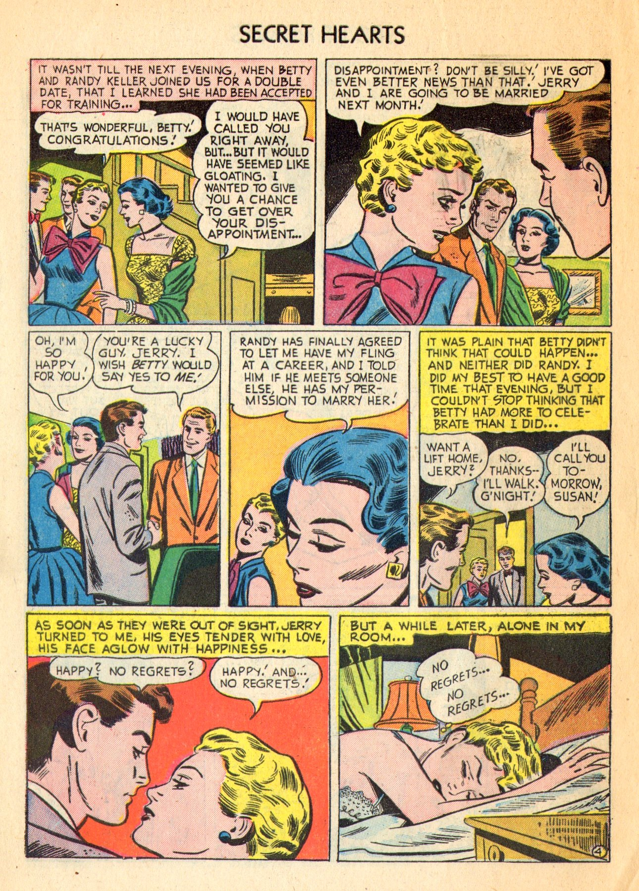Read online Secret Hearts comic -  Issue #18 - 6