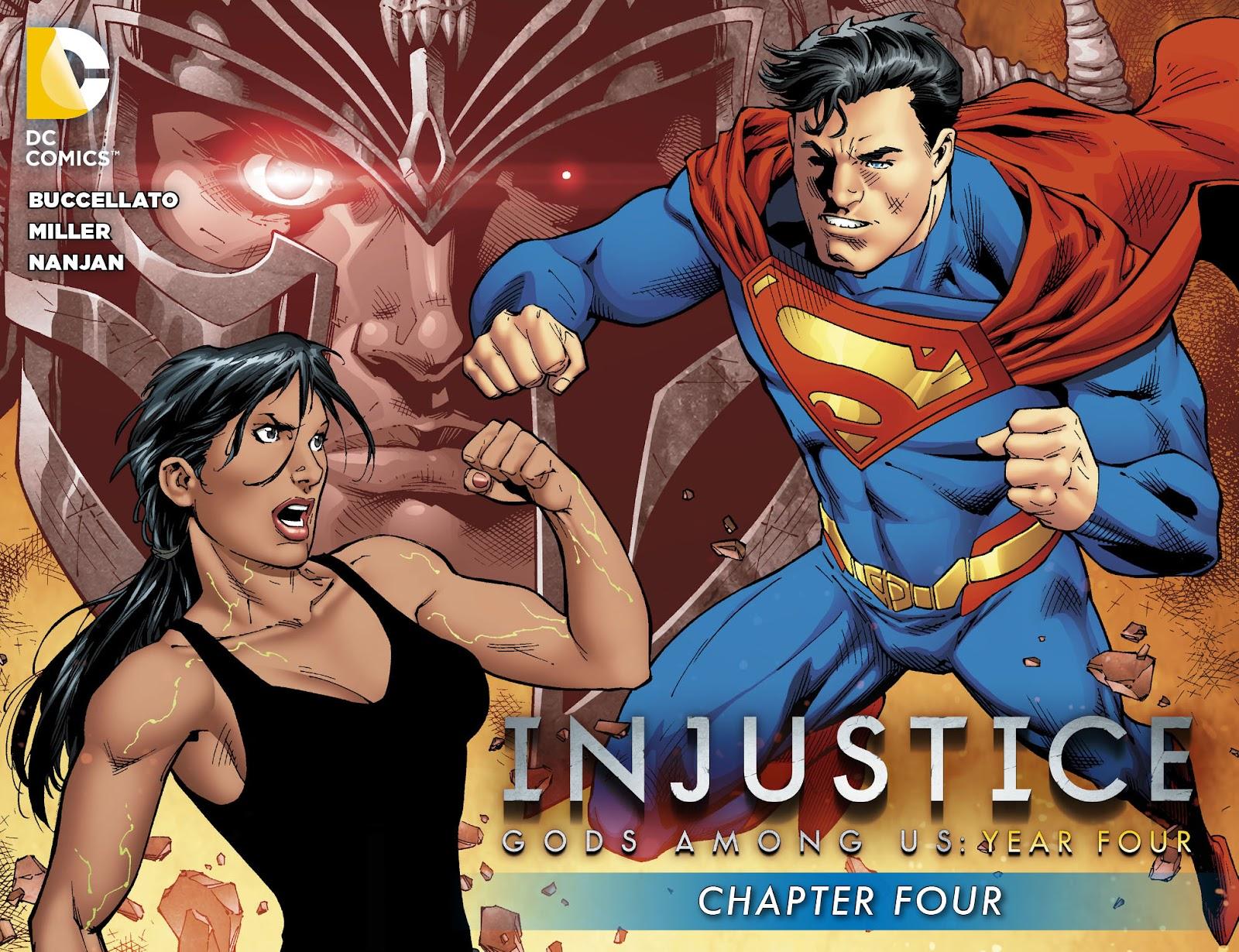 Injustice: Gods Among Us Year Four Issue #4 #5 - English 1