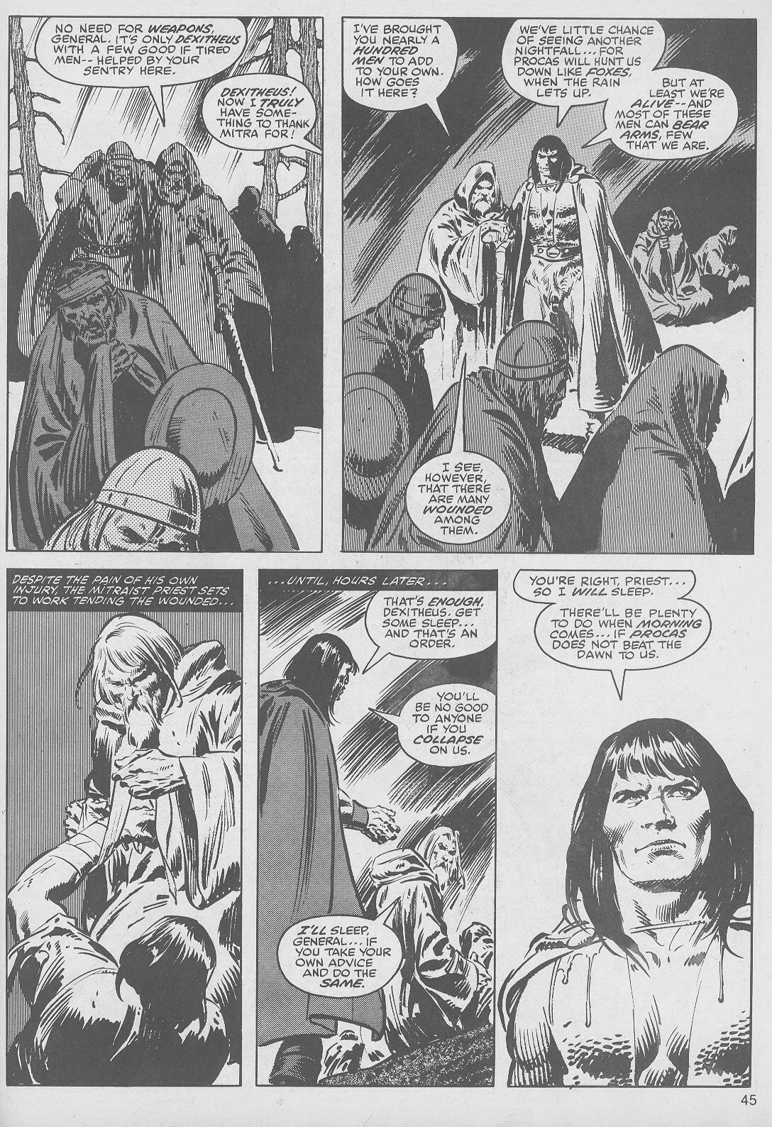 The Savage Sword Of Conan Issue #49 #50 - English 45