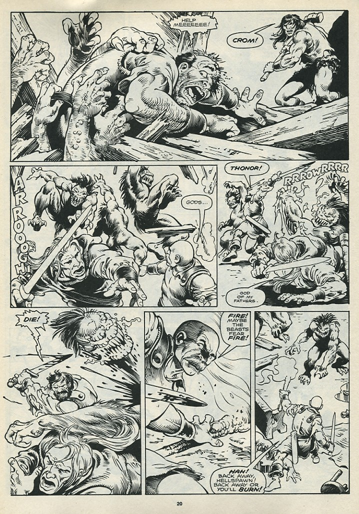 The Savage Sword Of Conan Issue #172 #173 - English 22