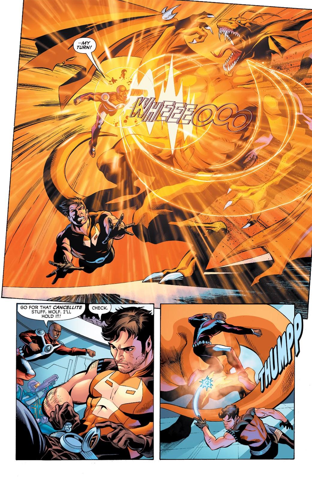 Legion of Super-Heroes (2010) Issue #9 #10 - English 19