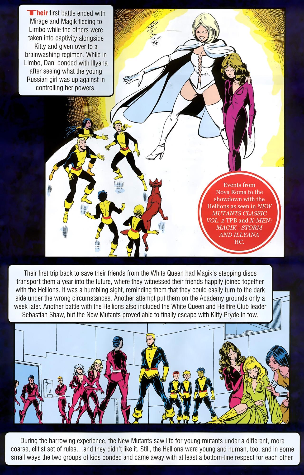 Read online New Mutants Saga comic -  Issue # Full - 13