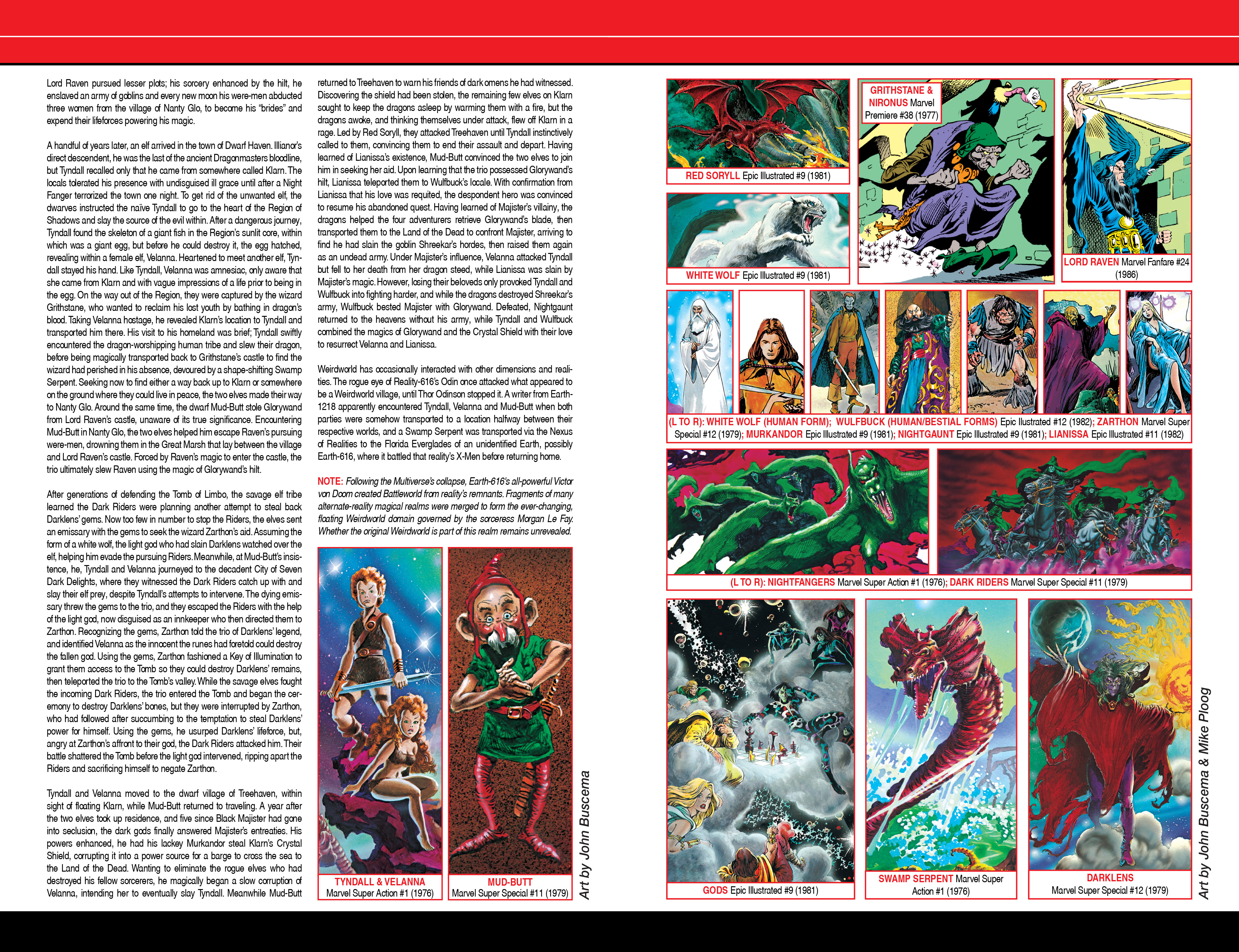 Read online Secret Wars: Official Guide to the Marvel Multiverse comic -  Issue # Full - 31
