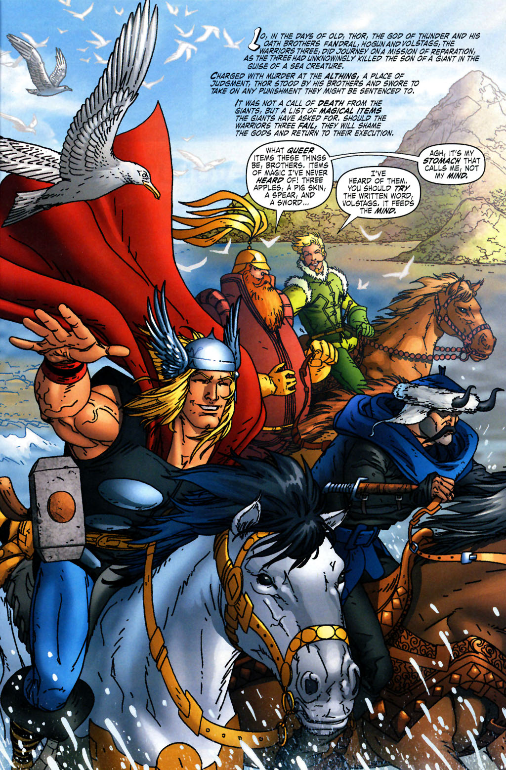 Read online Thor: Blood Oath comic -  Issue #2 - 2