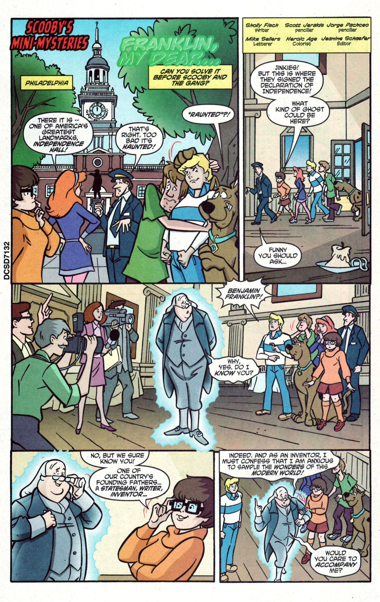 Read online Scooby-Doo (1997) comic -  Issue #122 - 14