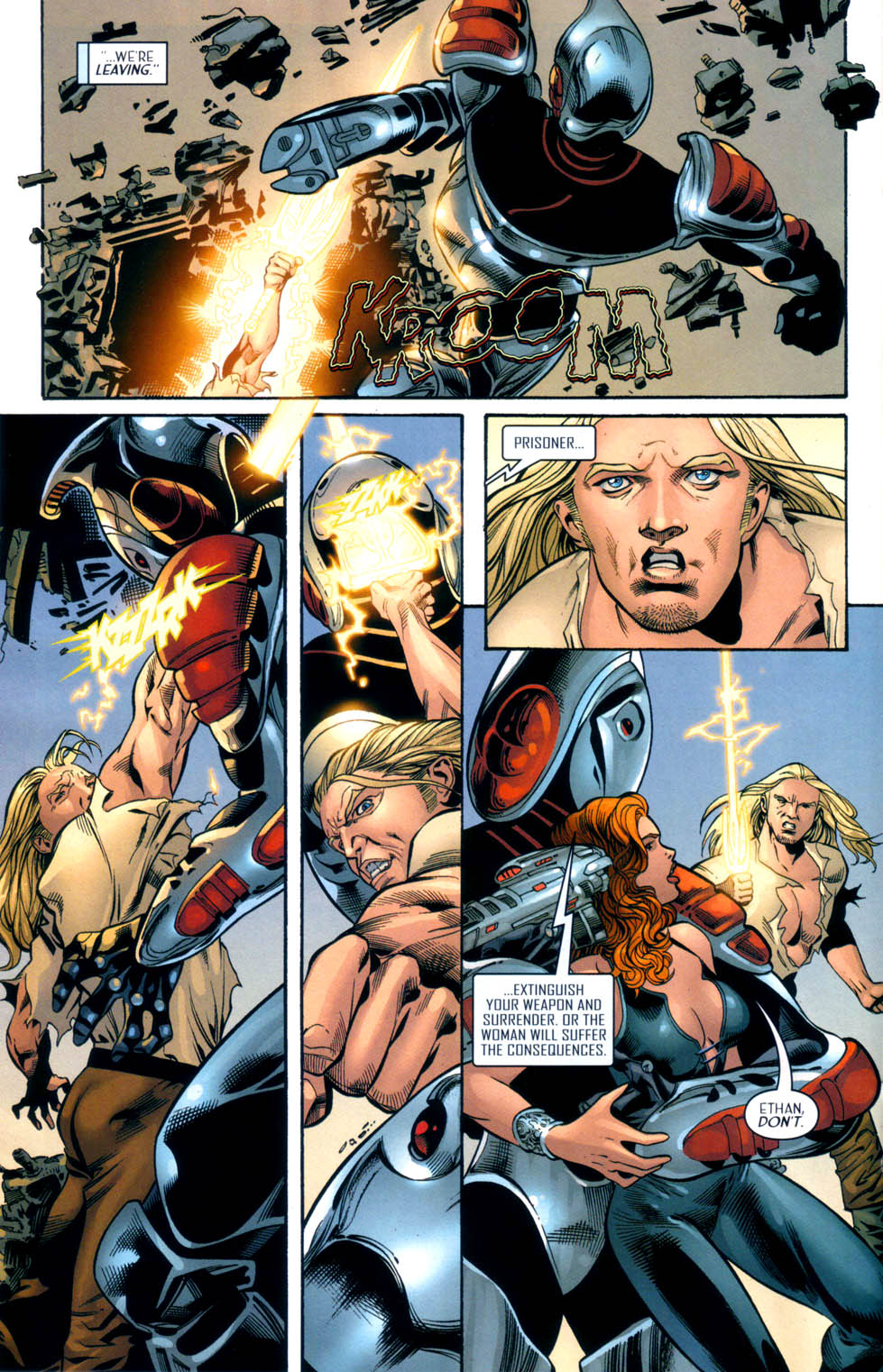 Read online Scion comic -  Issue #33 - 16