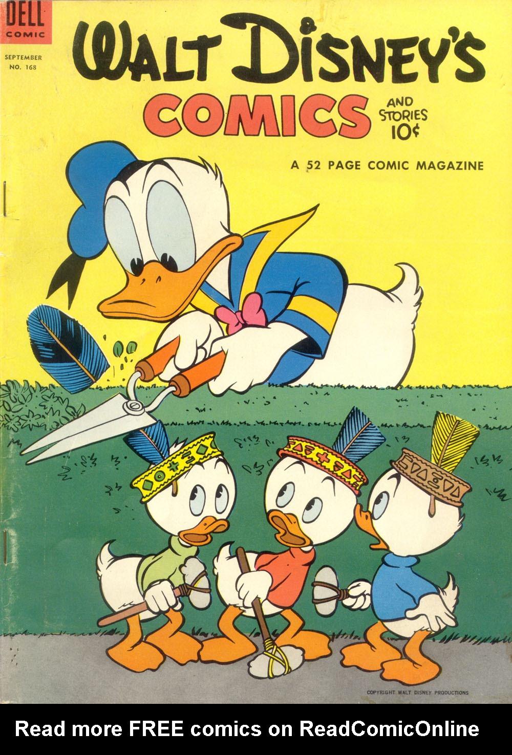 Walt Disneys Comics and Stories 168 Page 1