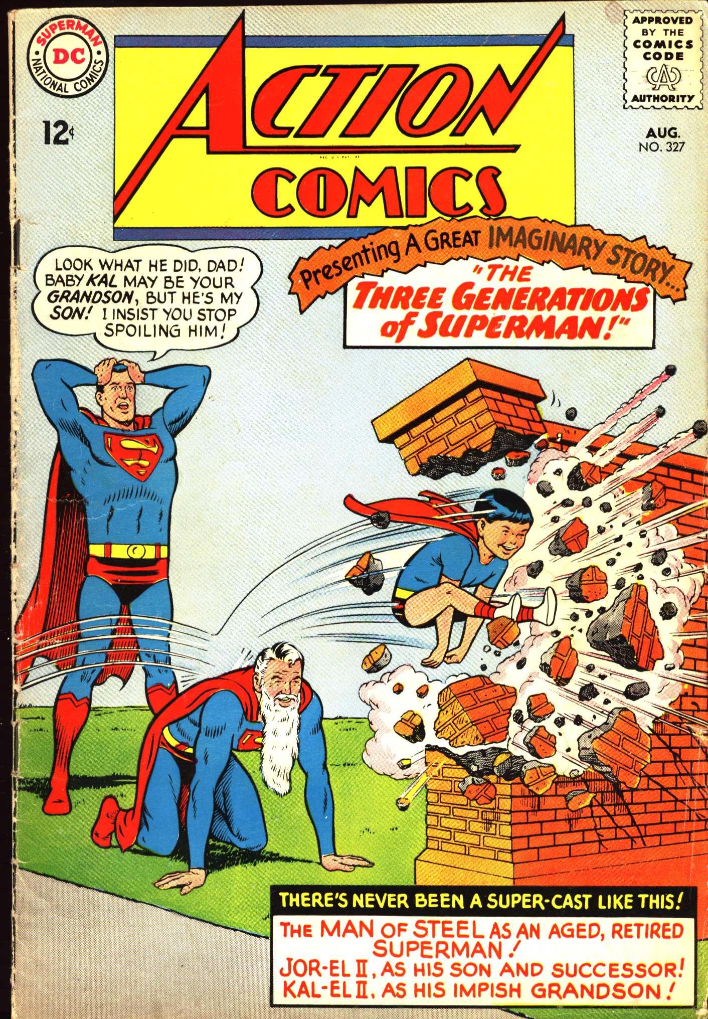 Action Comics (1938) 327 Page 1