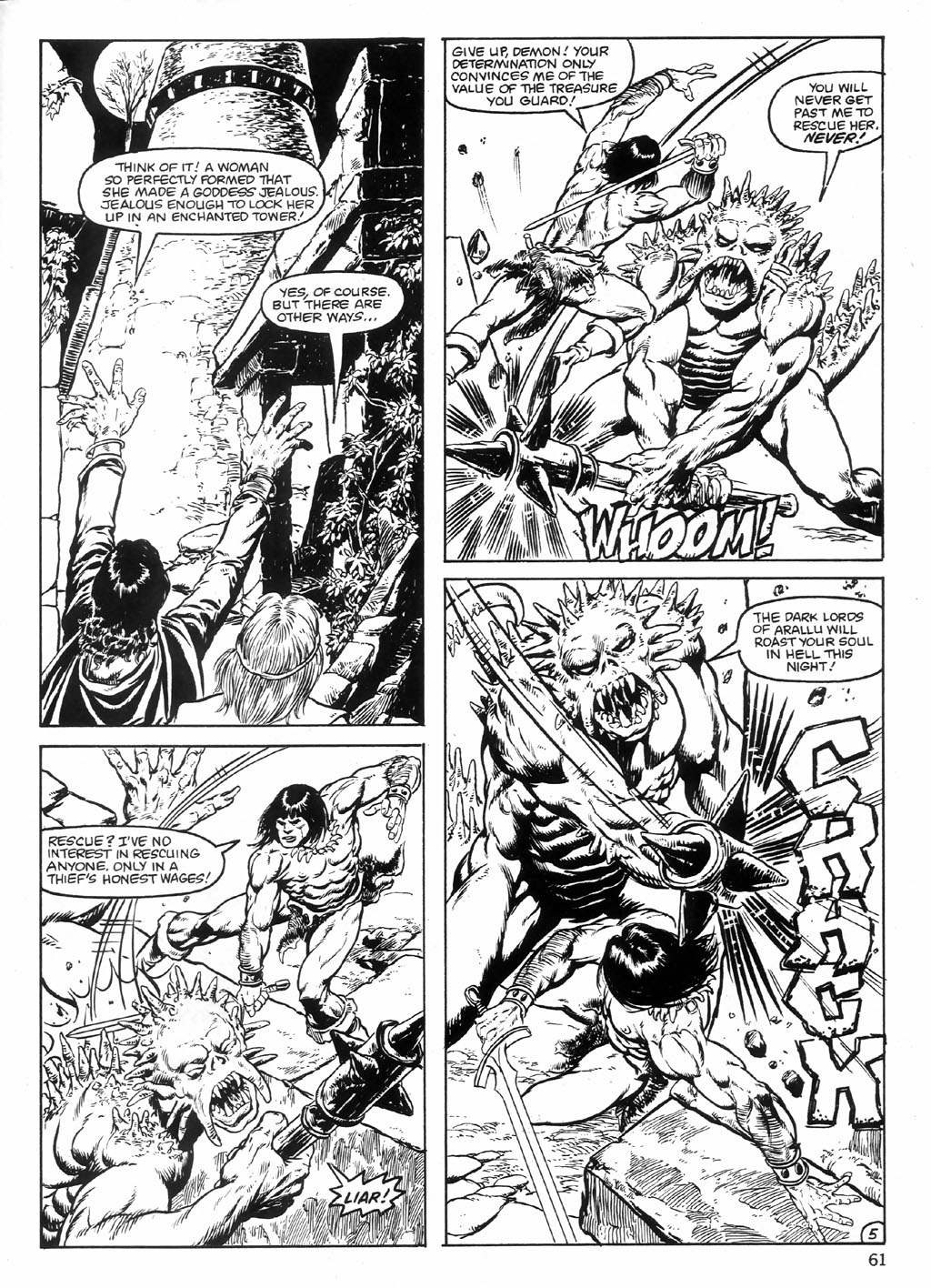 The Savage Sword Of Conan Issue #98 #99 - English 61