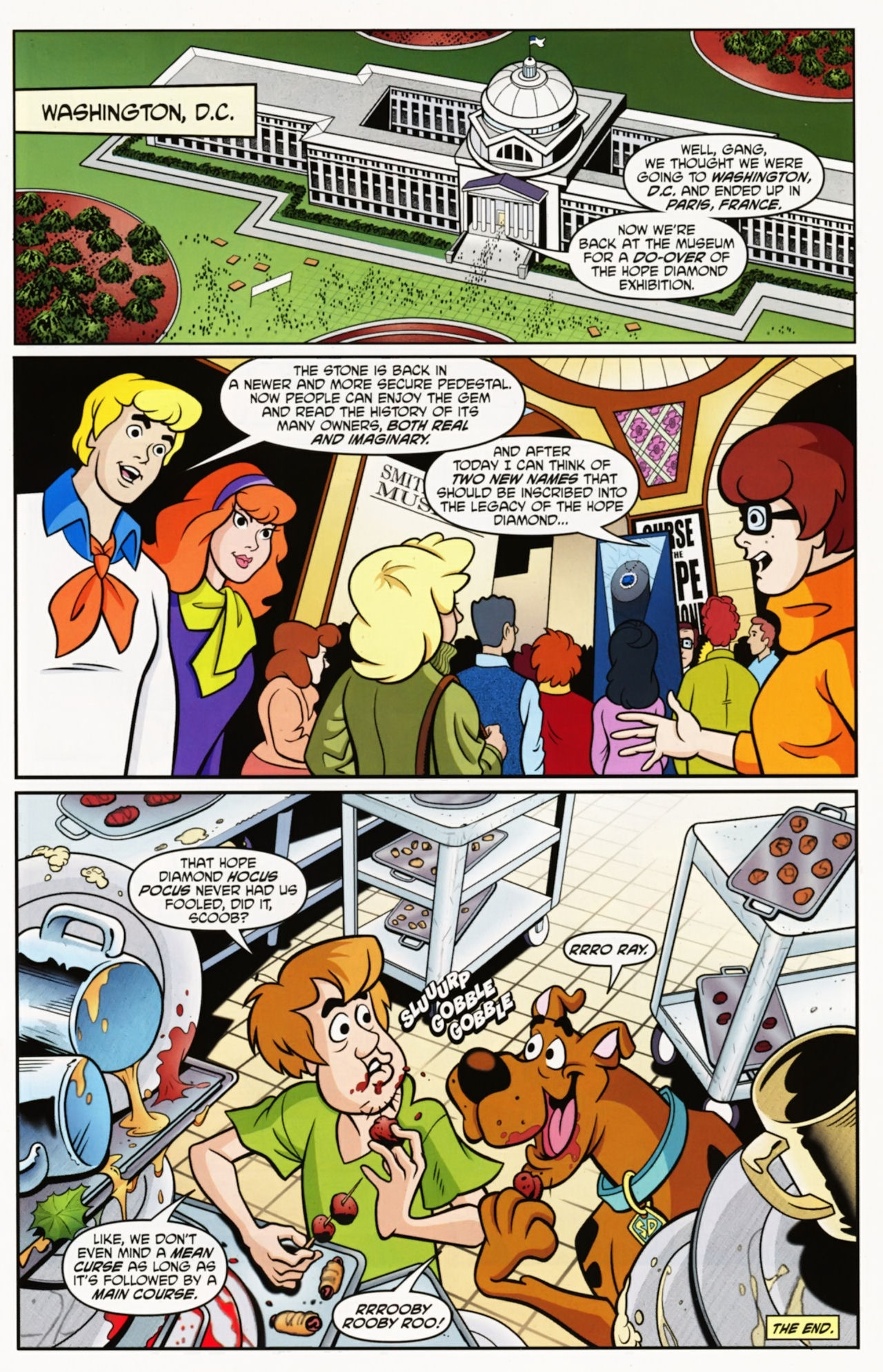 Read online Scooby-Doo: Where Are You? comic -  Issue #12 - 17