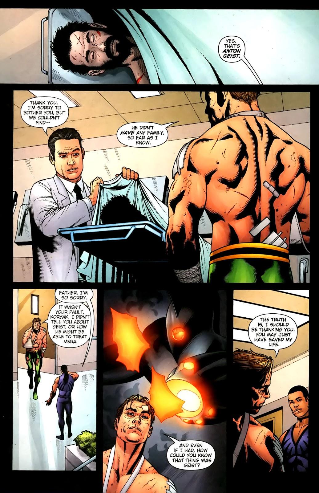 Aquaman (2003) Issue #36 #36 - English 14