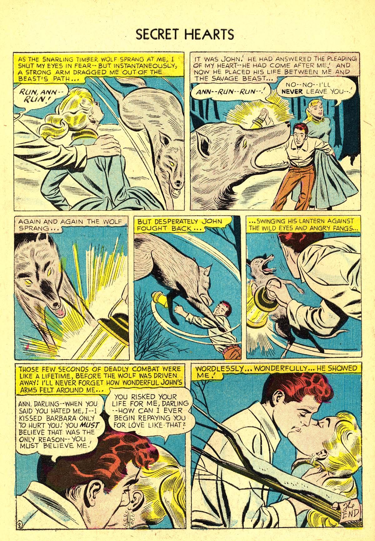 Read online Secret Hearts comic -  Issue #37 - 34