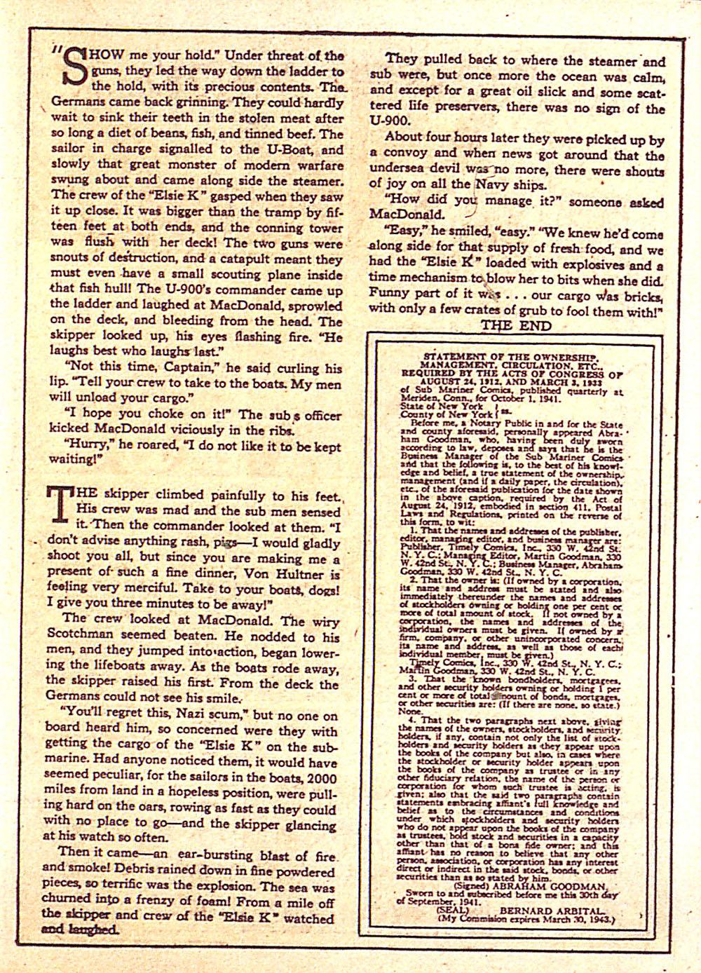 Sub-Mariner Comics Issue #4 #4 - English 44