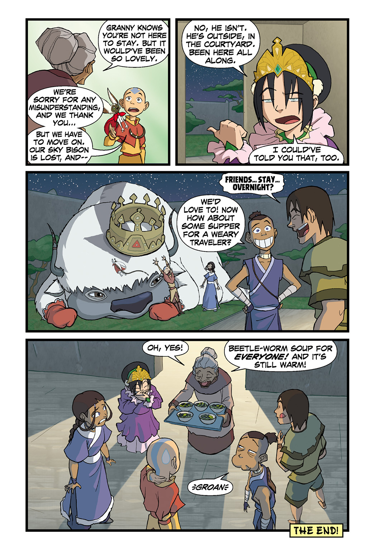 Nickelodeon Avatar: The Last Airbender - The Lost Adventures chap full pic 78