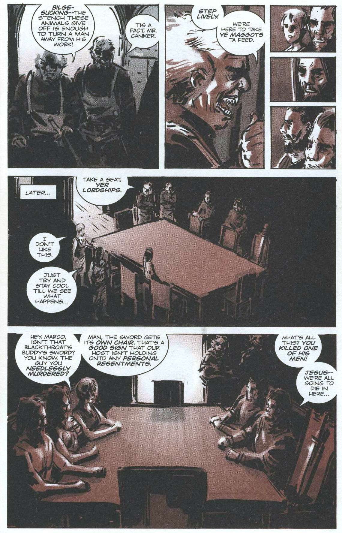 Read online Sea of Red comic -  Issue #7 - 5