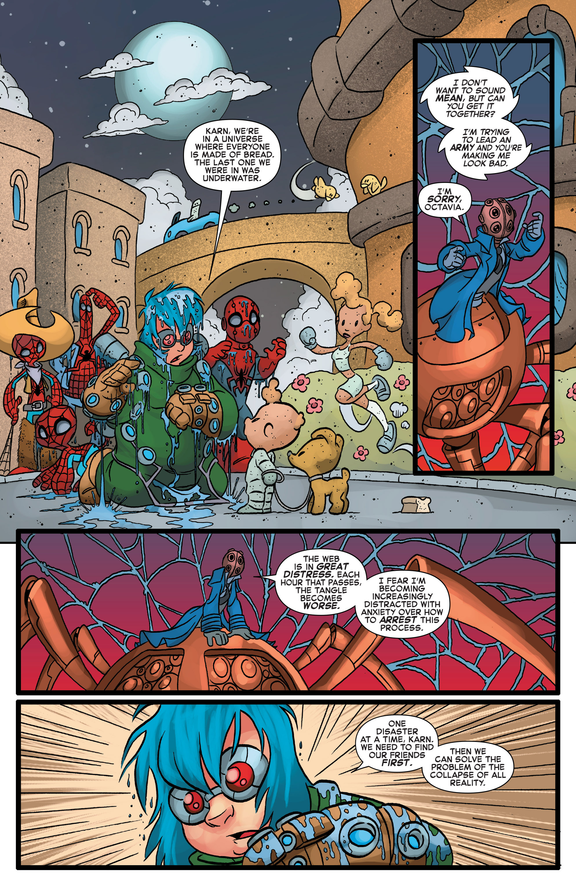Read online Web Warriors comic -  Issue #10 - 9
