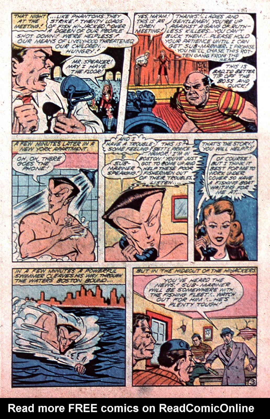 Sub-Mariner Comics Issue #15 #15 - English 5