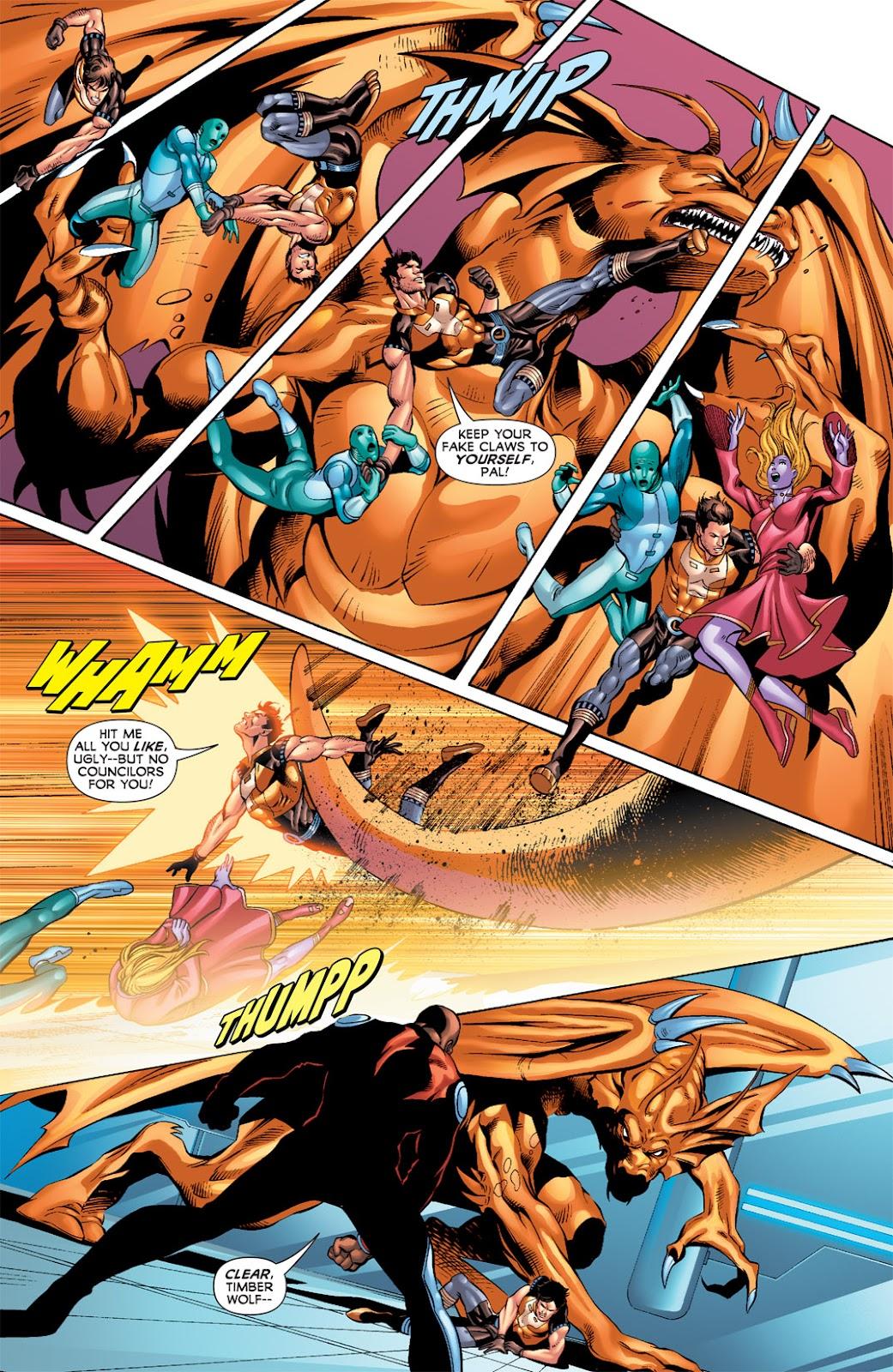 Legion of Super-Heroes (2010) Issue #9 #10 - English 18