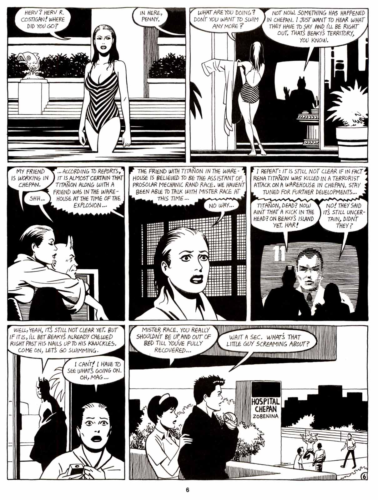 Love and Rockets (1982) Issue #9 #8 - English 8