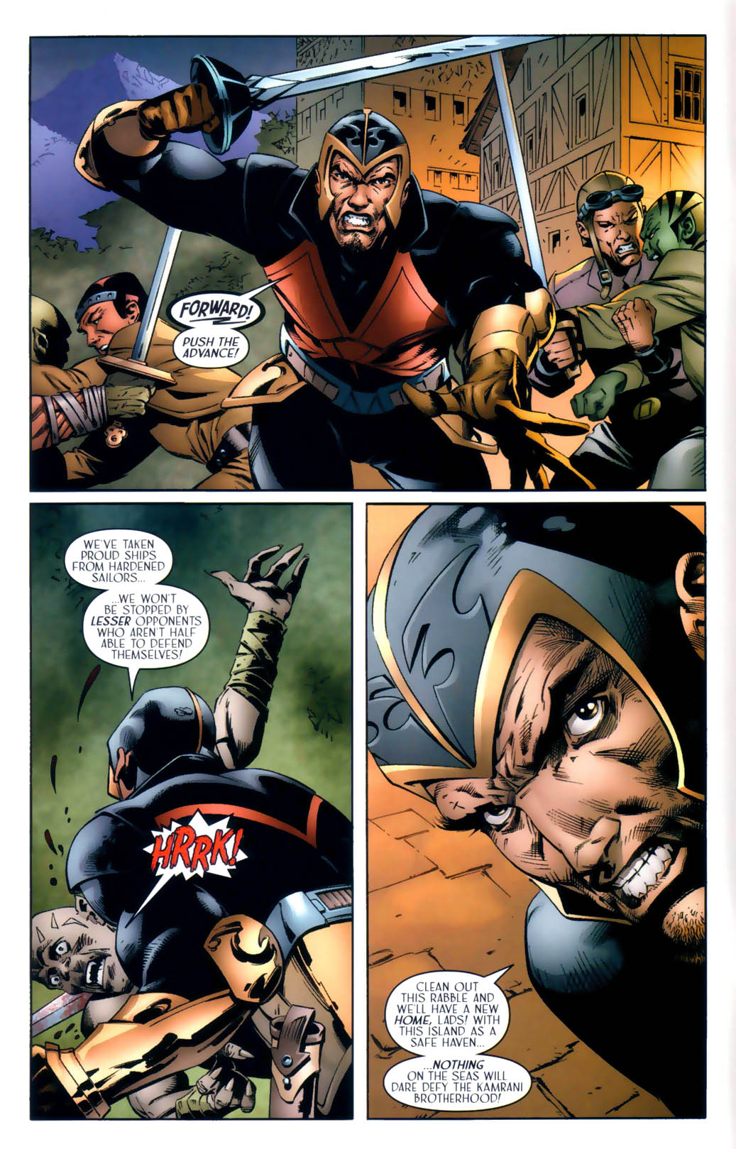 Read online Scion comic -  Issue #30 - 6