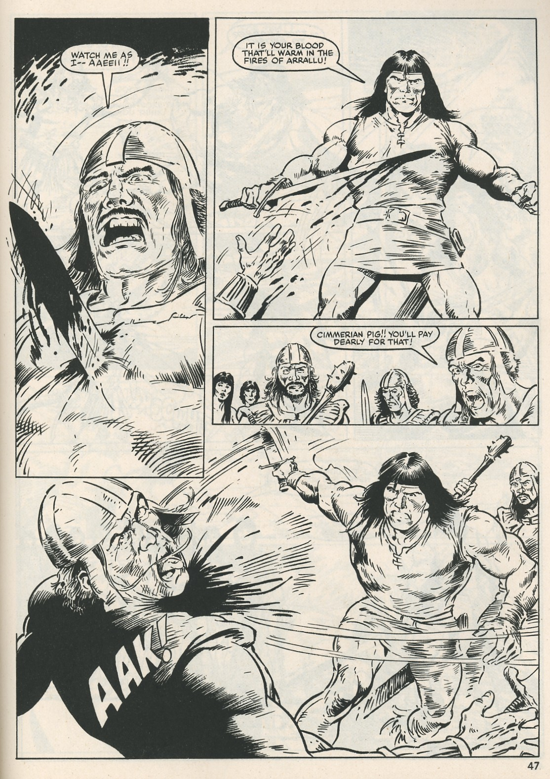 The Savage Sword Of Conan Issue #115 #116 - English 47