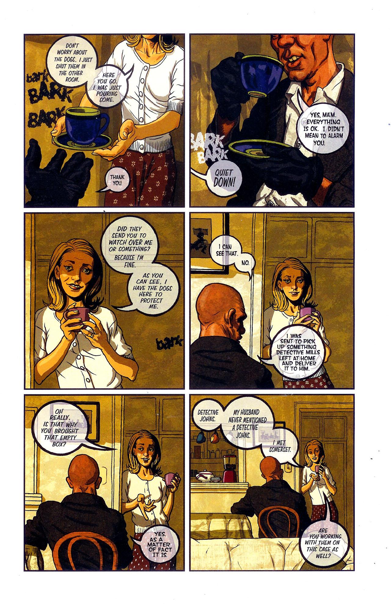Read online Se7en comic -  Issue #6 - 25