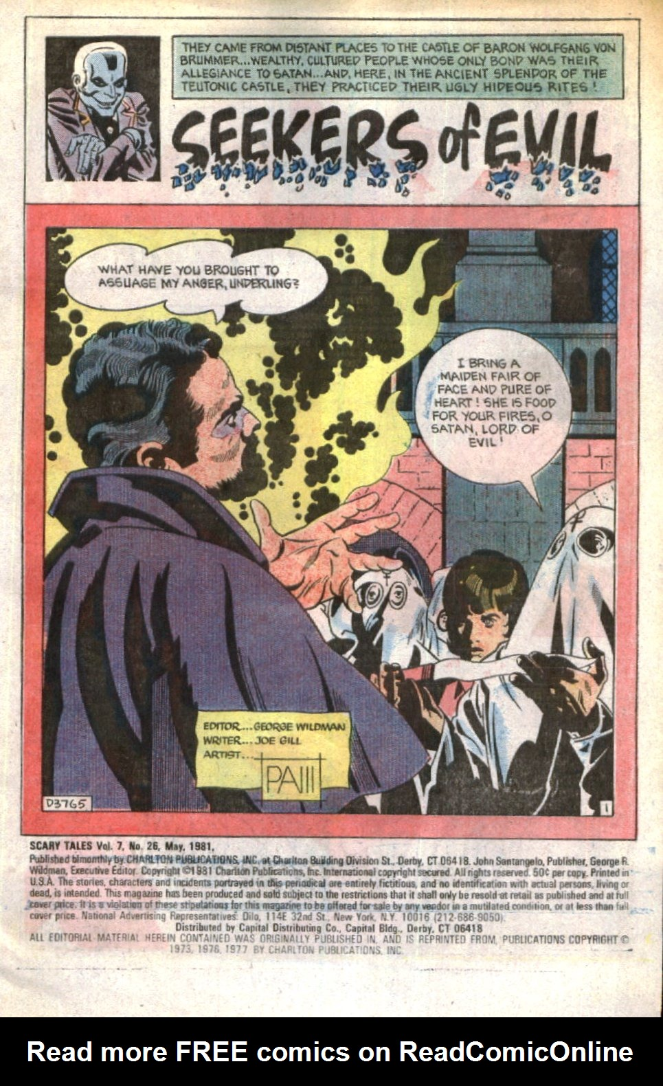 Read online Scary Tales comic -  Issue #26 - 3