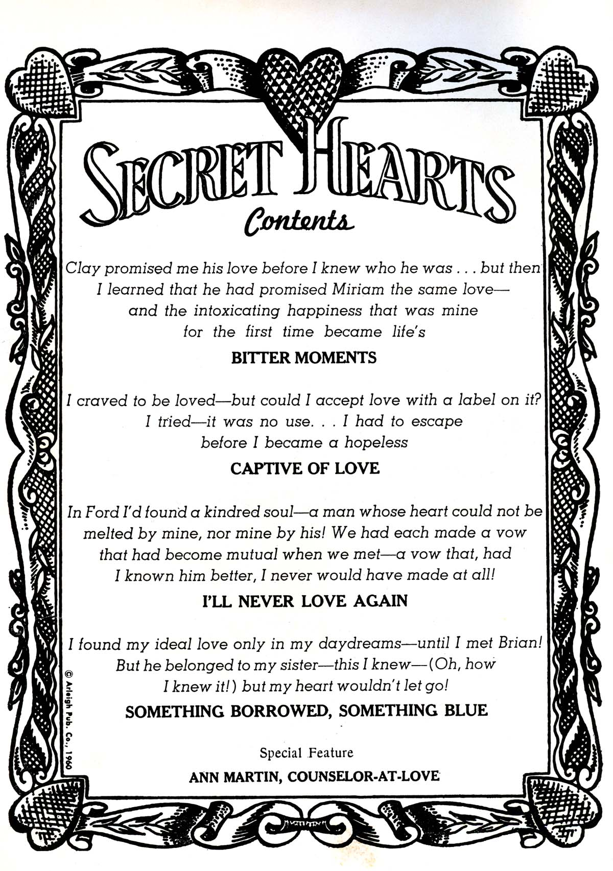 Read online Secret Hearts comic -  Issue #64 - 2