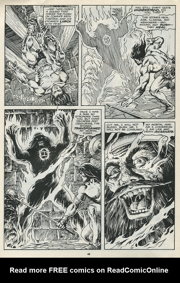 The Savage Sword Of Conan Issue #174 #175 - English 50