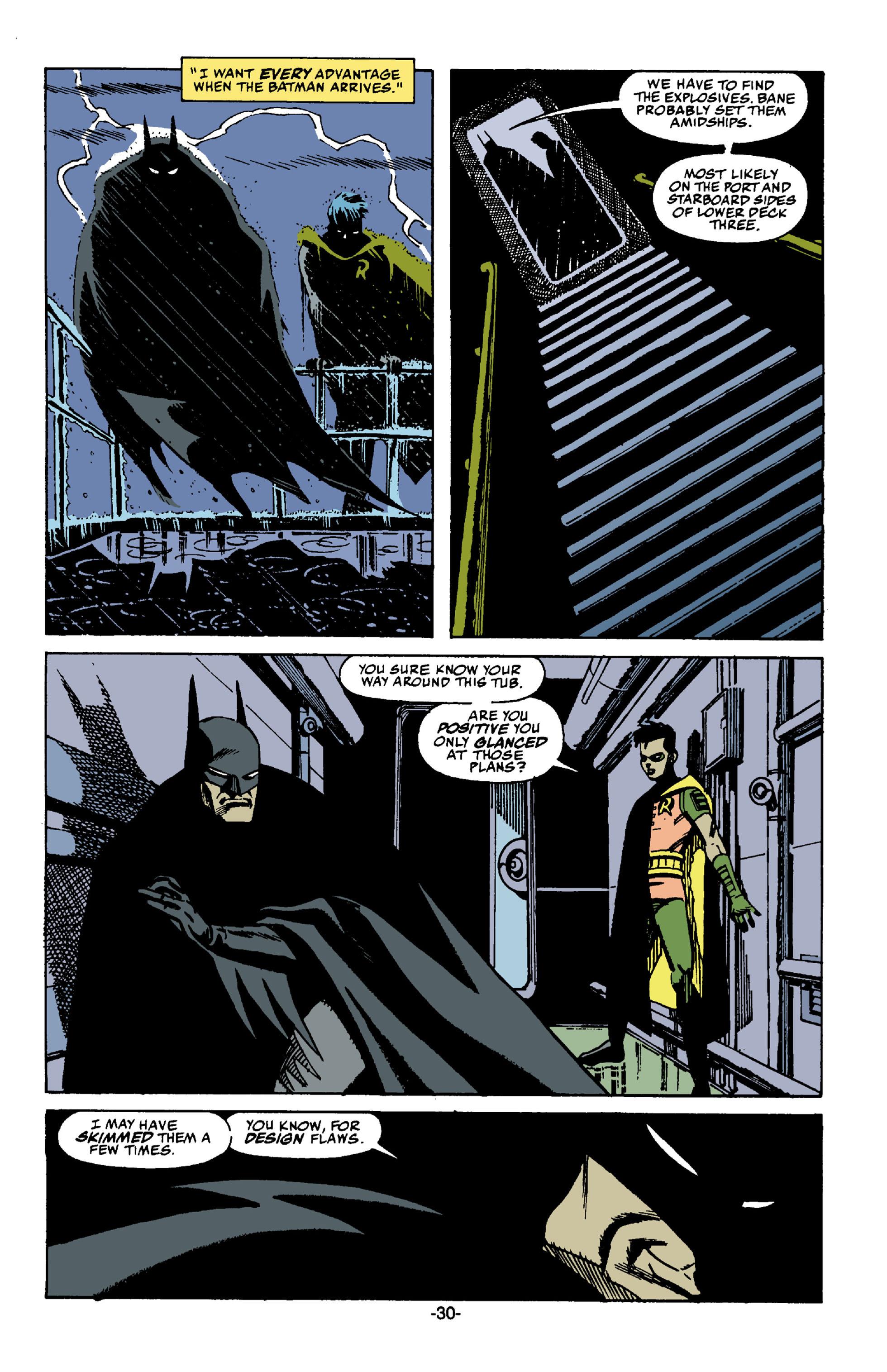 Read online Batman: Bane comic -  Issue # Full - 31