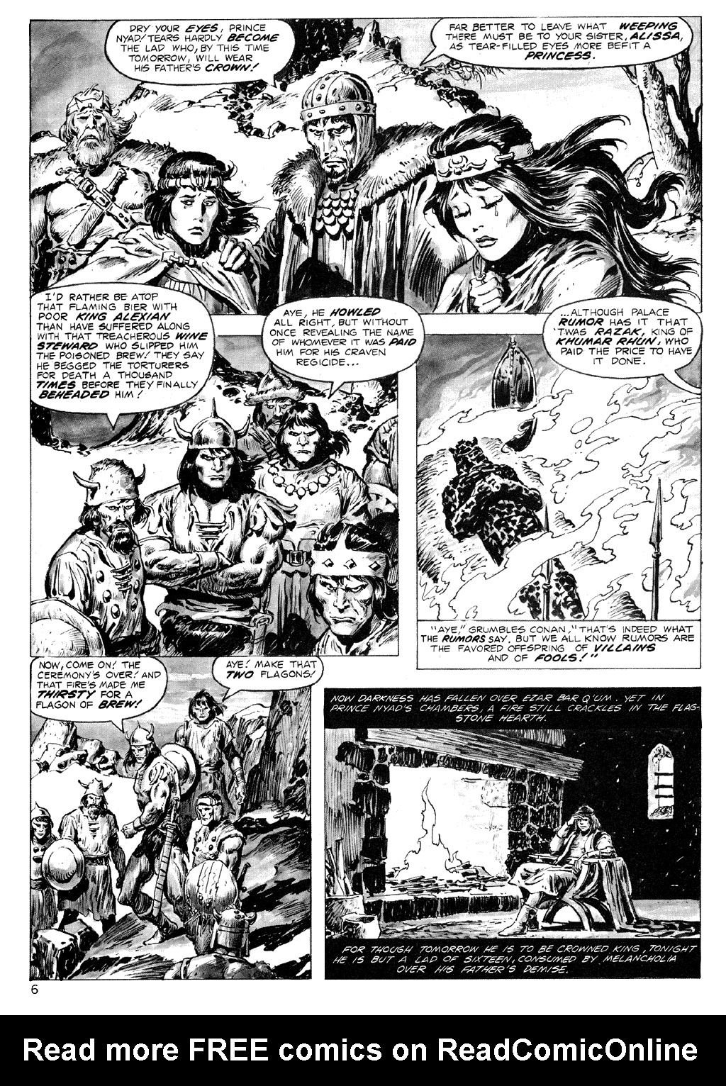 The Savage Sword Of Conan Issue #71 #72 - English 6