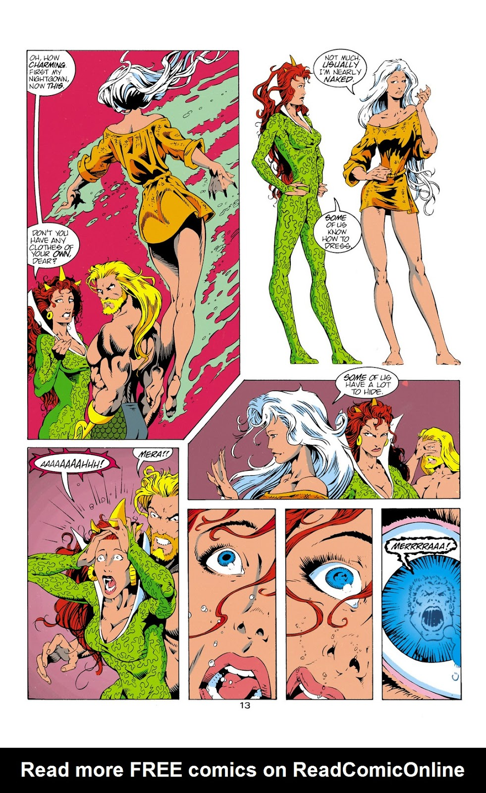 Aquaman (1994) Issue #12 #18 - English 14
