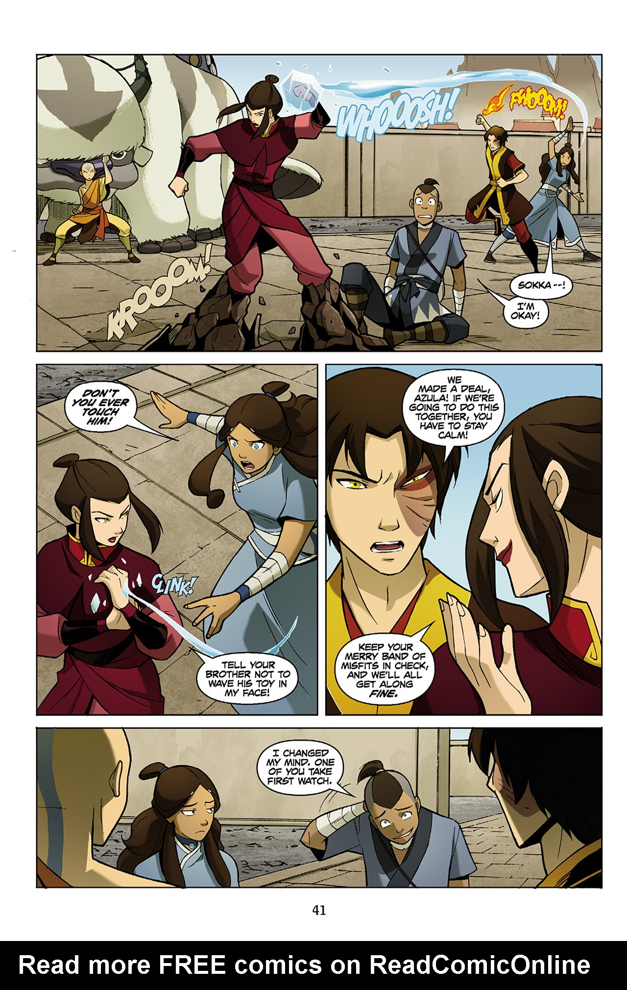 Read online Nickelodeon Avatar: The Last Airbender - The Search comic -  Issue # Part 1 - 42