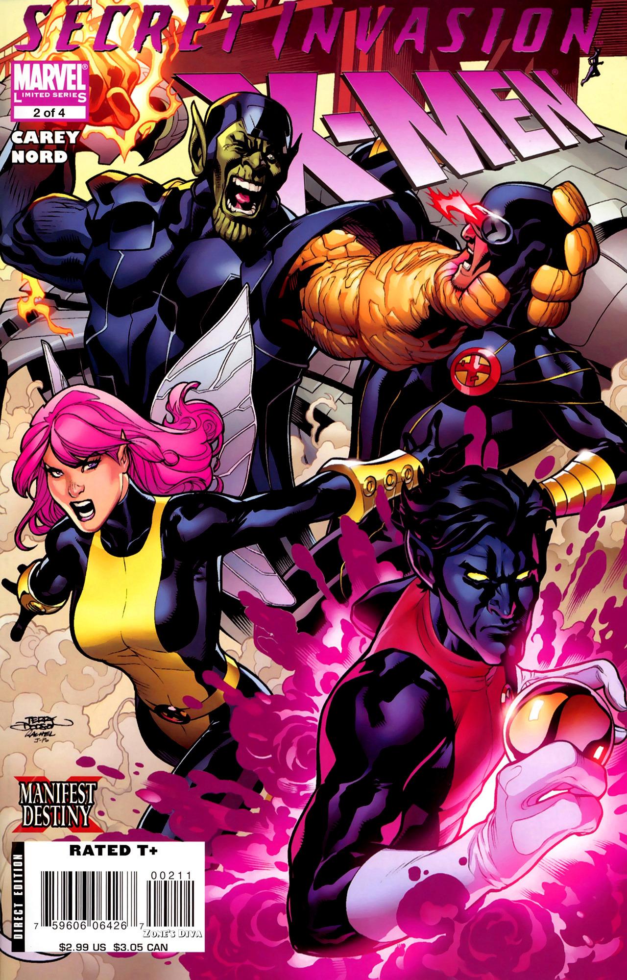 Read online Secret Invasion: X-Men comic -  Issue #2 - 1