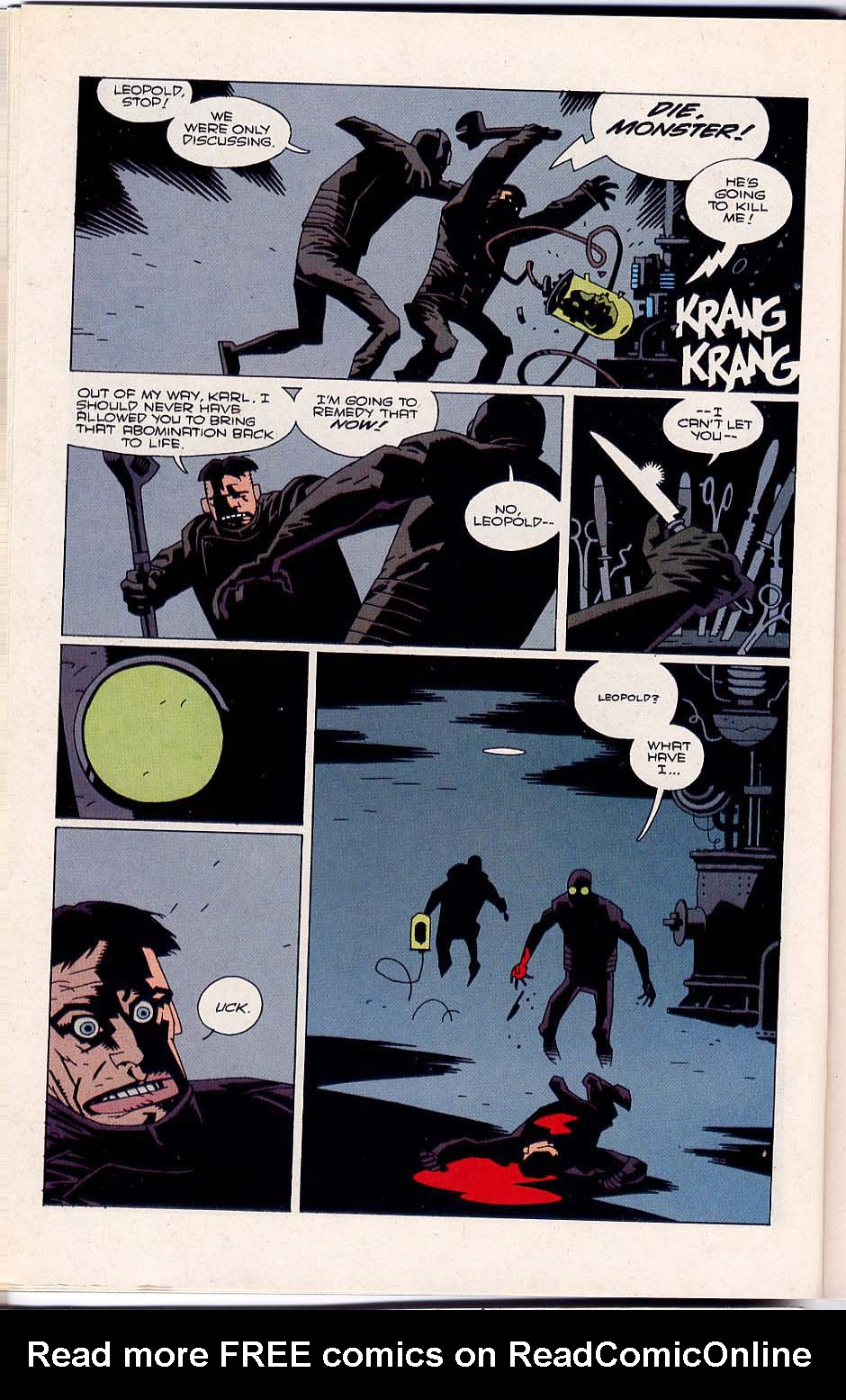 Hellboy: Wake the Devil Issue #4 #4 - English 22