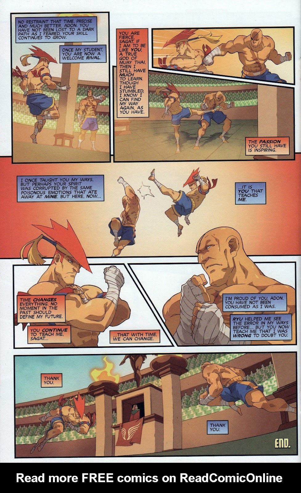 Street Fighter Unlimited Issue #9 #11 - English 26