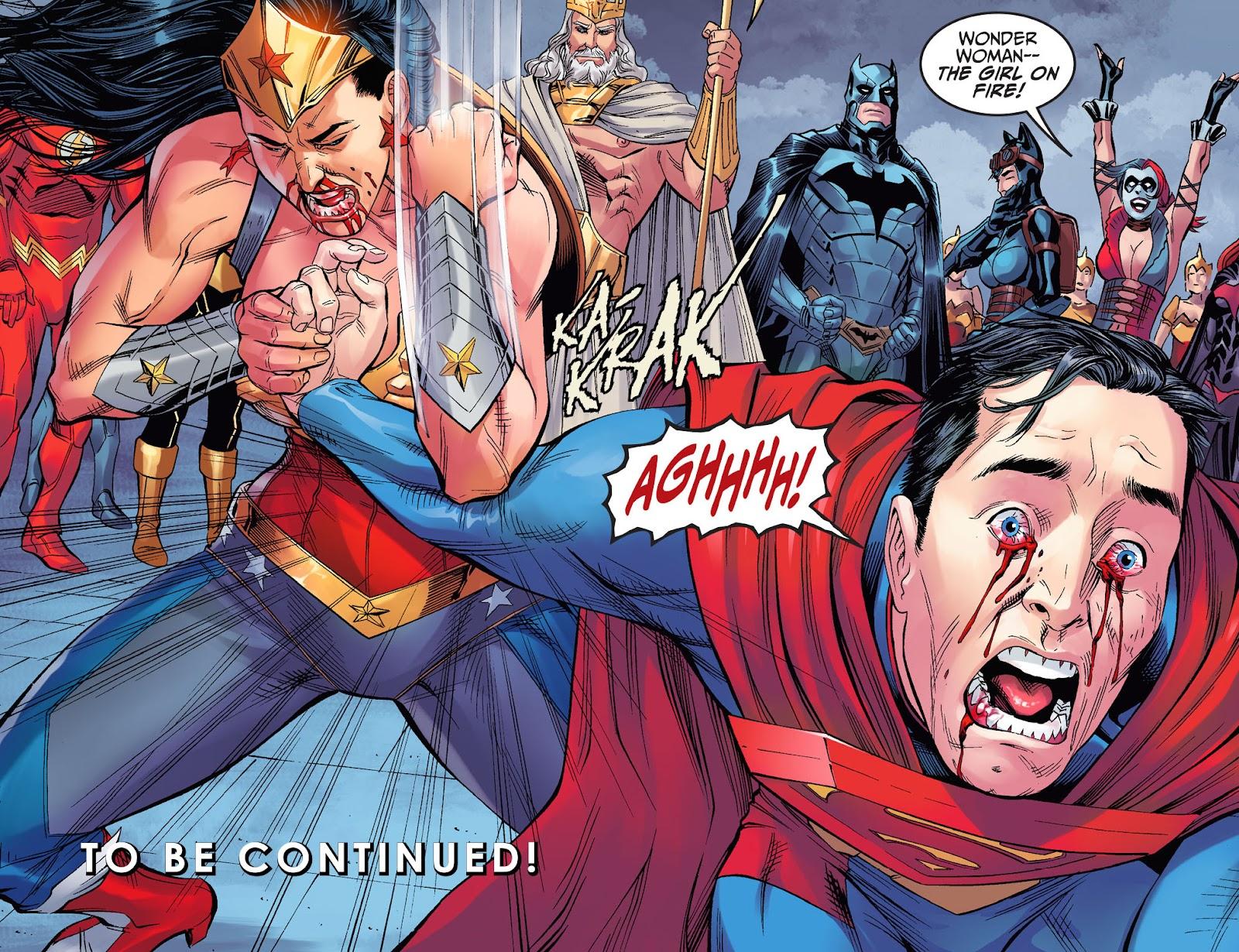 Injustice: Gods Among Us Year Four Issue #8 #9 - English 22