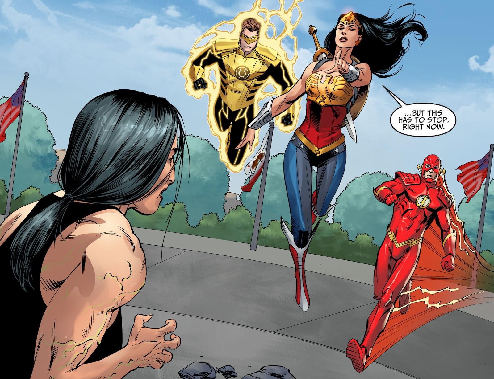 Injustice: Gods Among Us Year Four Issue #4 #5 - English 10