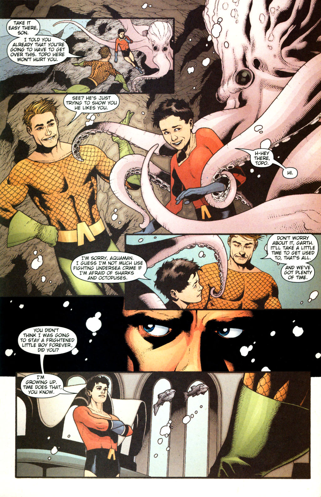 Read online Aquaman (2003) comic -  Issue #38 - 18