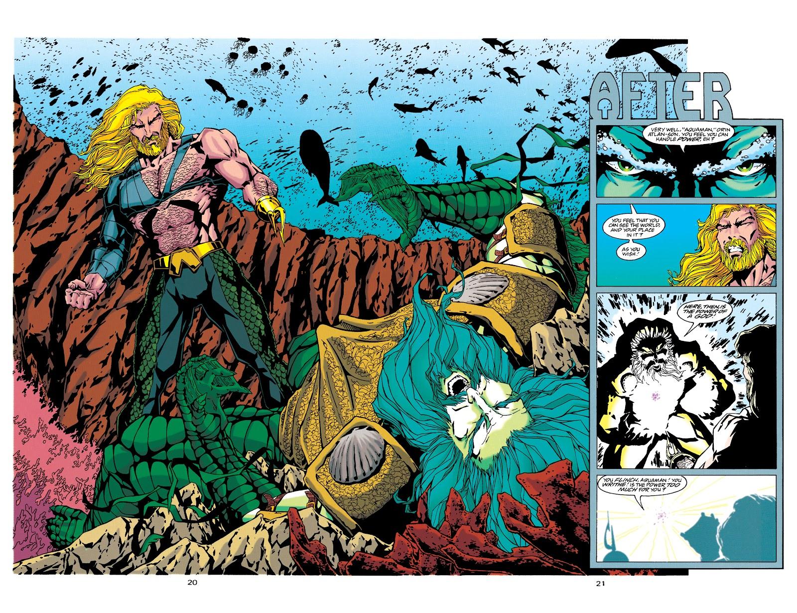 Aquaman (1994) Issue #34 #40 - English 17