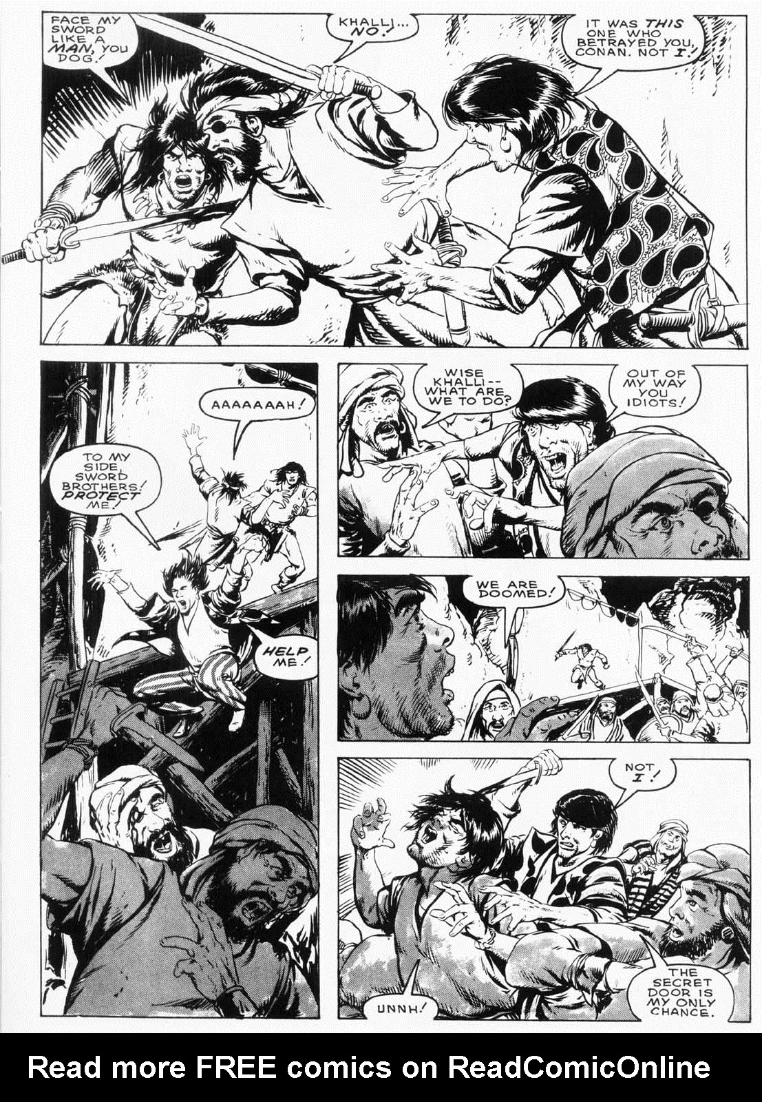 The Savage Sword Of Conan Issue #154 #155 - English 12