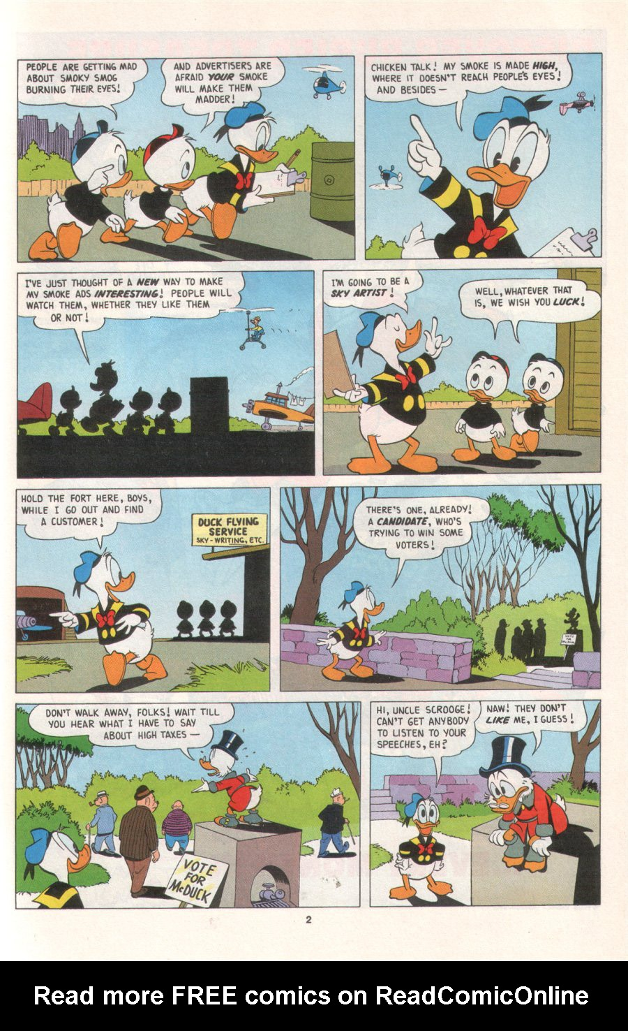 Uncle Scrooge (1953) Issue #276 #276 - English 21