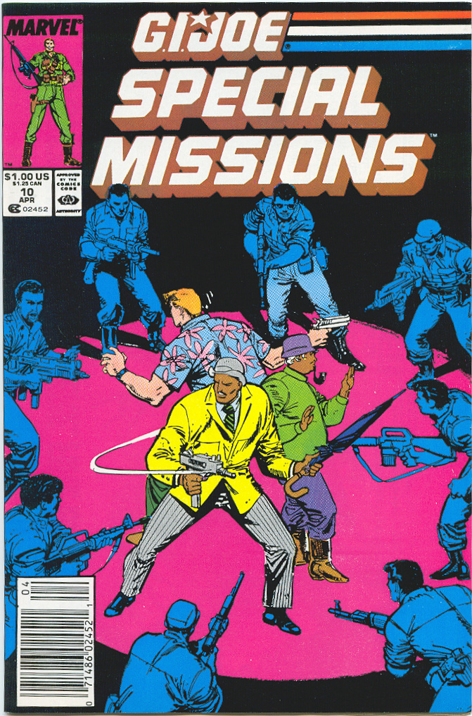 G.I. Joe Special Missions 10 Page 1