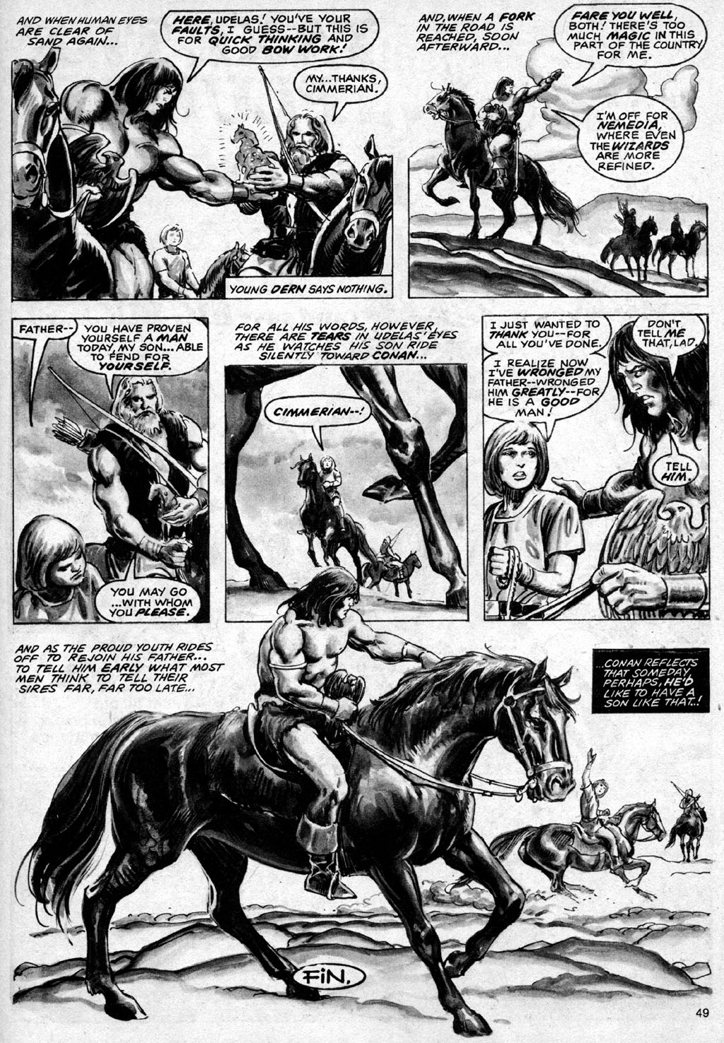 The Savage Sword Of Conan Issue #69 #70 - English 49